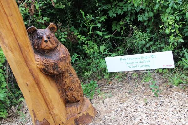 Bears Wood Carving