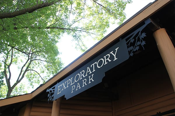 North Entrance to Exploratory Park