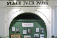 Glimpse into the History Display at Wisconsin State Fair