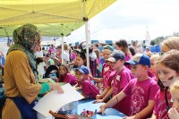 Children Participating in Fair Camp Activities