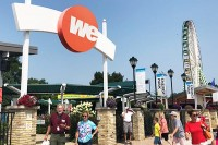 Entrance to We Energies Energy Park