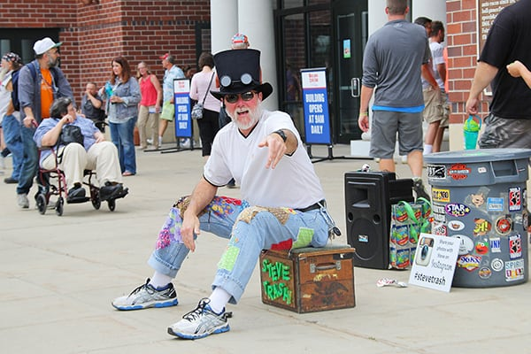 Street Entertainer at Wisconsin State Fair