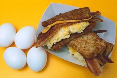 All American Grilled Breakfast Sandwich