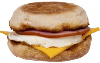 Egg, Ham, Cheese Muffin