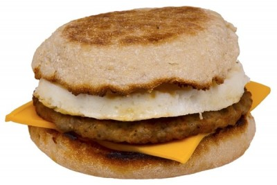 Egg, Sausage, Cheese Muffin