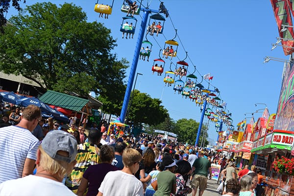 A Beautiful Day at the Wisconsin State Fair