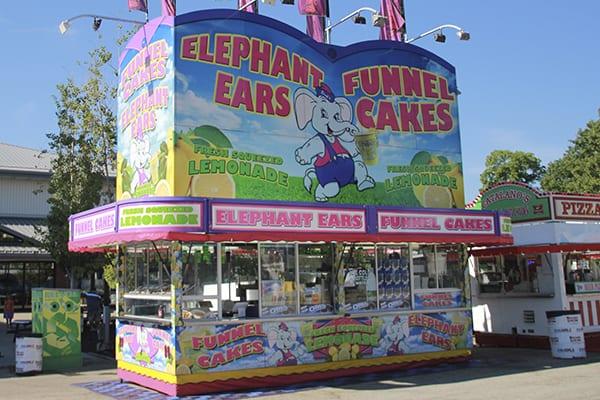 Rick S Elephant Ears Wisconsin State Fair