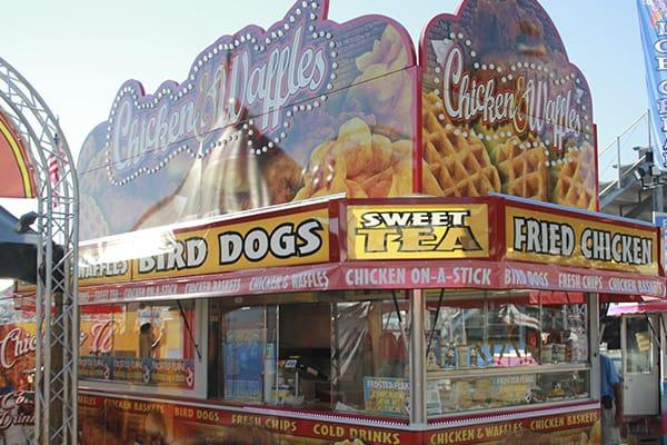 Chicken Waffles Wisconsin State Fair