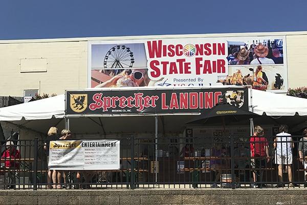 Sprecher Landing at Wisconsin State Fair