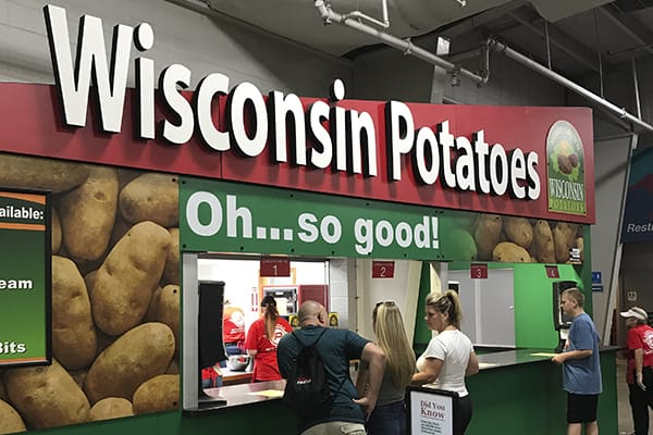 Wisconsin Potatoes at Wisconsin State Fair