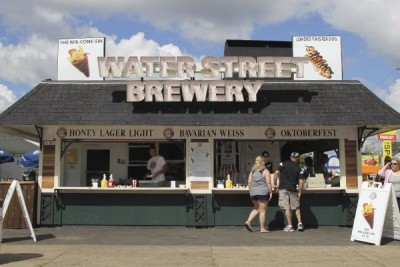 Water Street Brewery at Wisconsin State Fair