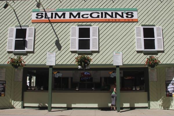 Slim McGinn's Irish Pub at Wisconsin State Fair