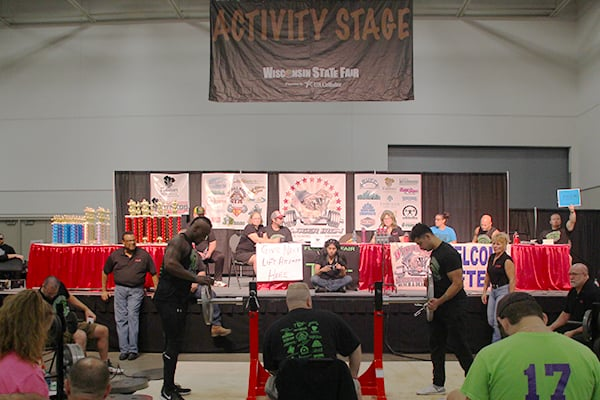 Activity Stage in Exposition Center