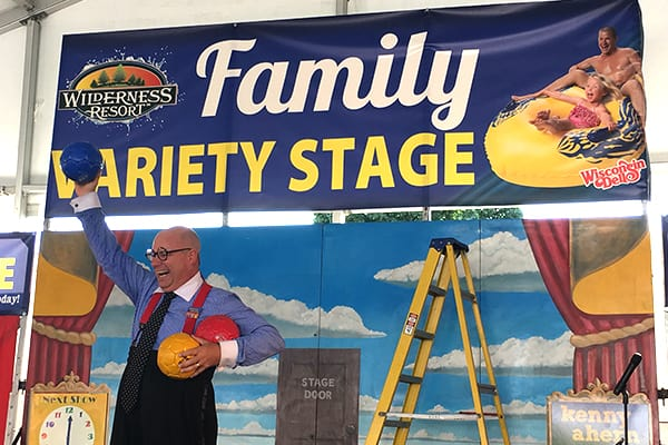 Performance on the Wilderness Resort Family Variety Stage