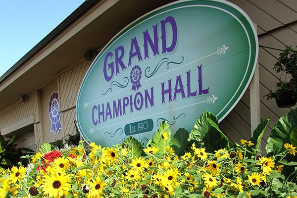 West Entrance to Grand Champion Hall