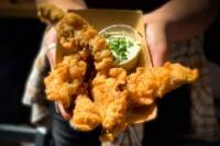 Deep-Fried Portabella Fries