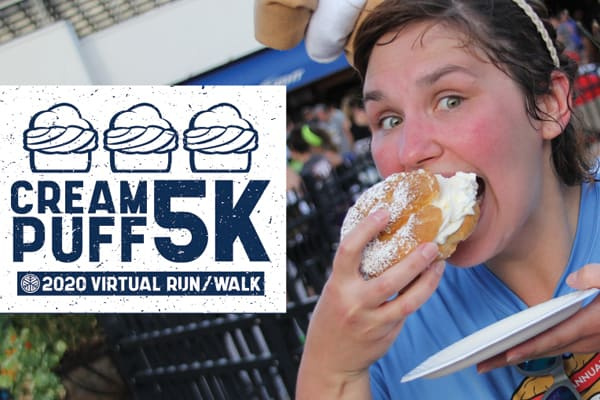 Cream Puff 5K - 2020 Virtual Run / Walk