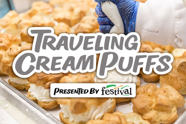 Traveling Cream Puffs presented by Festival Foods