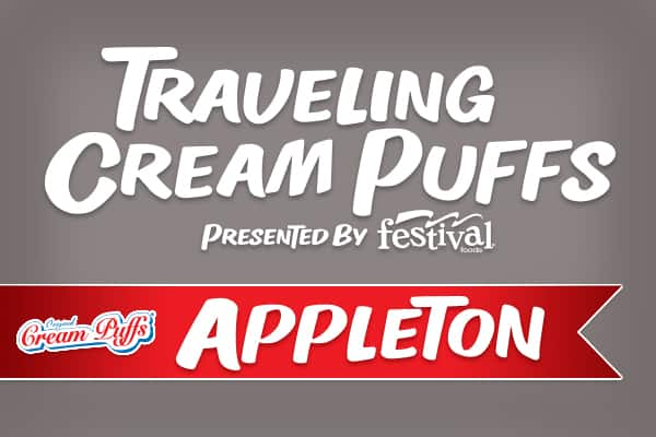 Traveling Cream Puffs presented by Festival Foods - Appleton, August 11