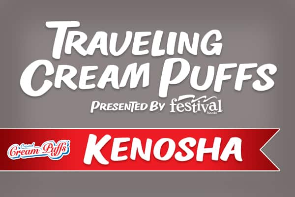 Traveling Cream Puffs Presented by Festival Foods - Kenosha, August 10