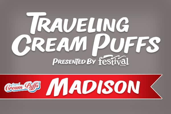 Traveling Cream Puffs presented by Festival Foods - Madison, August 12