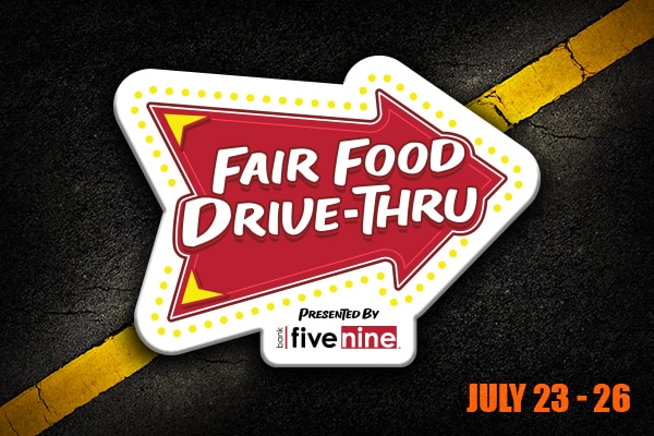 Week 1 of Fair Food Drive Thru - July 23-26