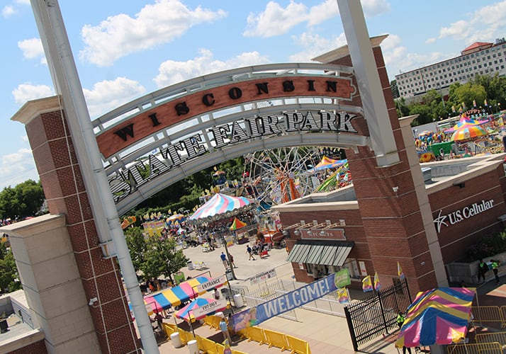 Wisconsin State Fair Park US Cellular Main Gate